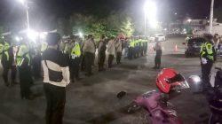 Antisipasi Gangguan Kamtibmas, Polres Soppeng Gelar Patroli Skala Besar