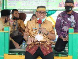 Launching Rumah Aspirasi Mappadeceng, Wabup LHD Apresiasi Kemenag kabupaten Soppeng