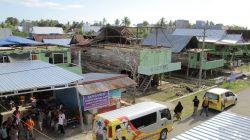 Supriansa Bantu Cepat Korban Angin Puting Beliung di Desa BottoKab.Wajo